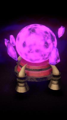 Стилізований магічний шар