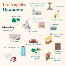 Экскурсионная карта для тур сайта
