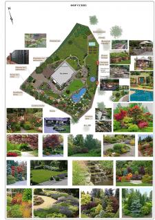 Проект Сад на склоне с живописным рельефом