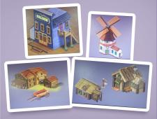 Элементы для игровой локации