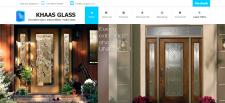 Сайт для компании по производству стекла