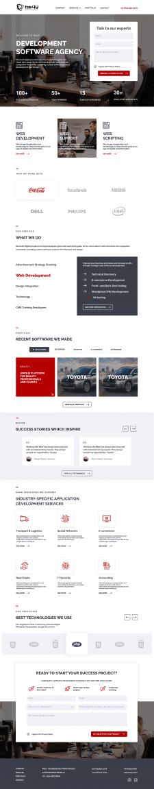 Website bs4y design