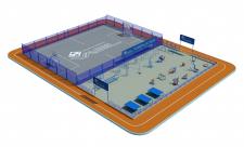 Модель стадіона 2