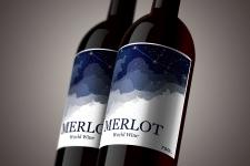 Вино этикетка1