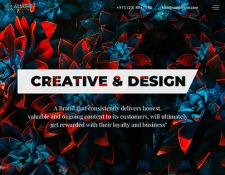Дизайн и разработка сайта Маркетингового Агентства