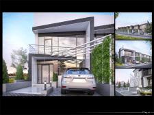 Клубний будинок візуалізація та моделювання