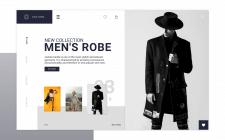 Web design сайта по продаже одежды 0.3