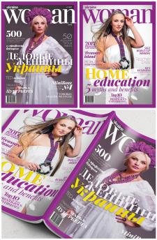 Обложка журнала «Woman»