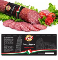 Дизайн этикетки для колбасных изделий