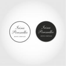 Логотип для косметолога Irina Peresadko
