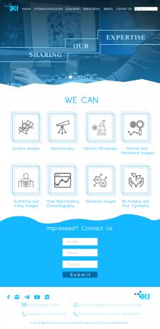 Part2. Website design for Ben-Gurion University
