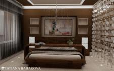 Дизайн проект квартира ЖК Министерский  01