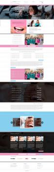 Сайт стоматологического центра Улыбнись