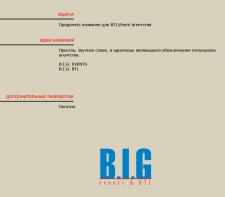 Разработка названия и логотипа для агентства.