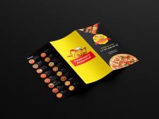 Буклет для суши, пиццы