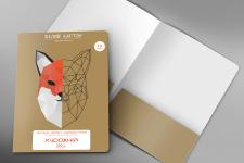 Упаковка картона для творчества