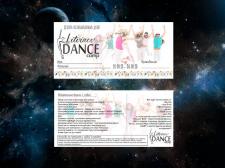 Билет для летнего танцевального лагеря