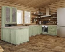 Визуализация кухни по Т3 замена цвета