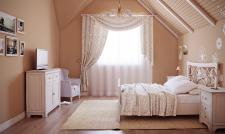 Летний домик, спальня