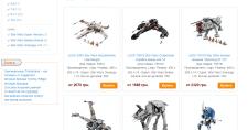 Описания наборов Lego