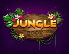 """Development unique logo for the slot game """"Jungle"""