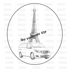 Логотип фирмы по автоуслугам (Франция)