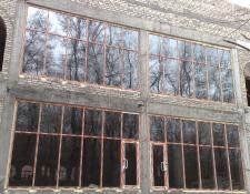 Развлекательный центр, стекляный фасад 75м2 2013