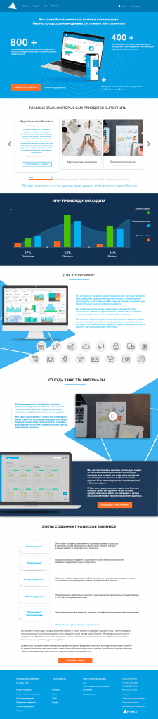 "Дизайн сайта ""Оптимизация бизнеса"""