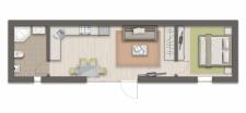 Каркасный дом План