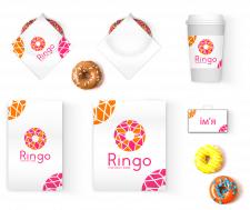 Фірминий стиль , і логоготип  для  Ringo