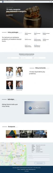 сайт  литовского  юриста