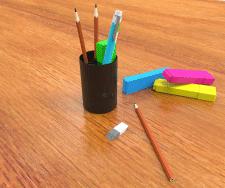 Моделирование и визуализация предметов и сцен