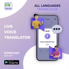 Баннер для приложения переводчик