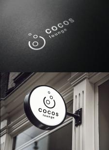 Логотип. Кальяная COCOS lounge