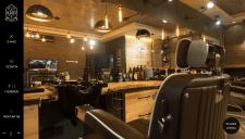 Лендинг для Barber Shop