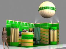 Визуализация стенда Еврошпон-Смига