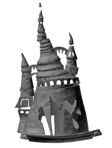 Скульптинг в Zbrush для игры под отрисовку