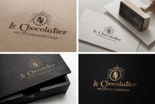 """Логотип для  майстерні шоколаду """"Le Chocolati"""""""