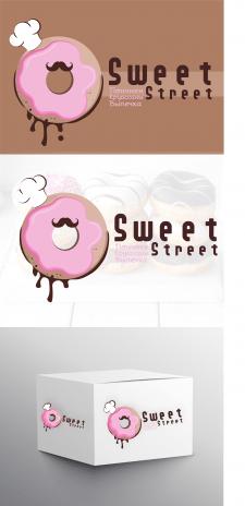 Логотип пончик