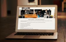 Сайт для компании по чистки дымоходов