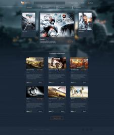 Дизайн сайта Lets Play