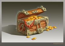 Скриня з золотом