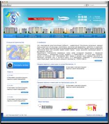 Разработка веб-дизайна для ОАО «Николаевский домостроительный ко