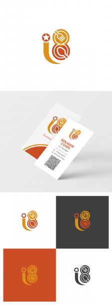 """Логотип и визитка """"i8"""""""