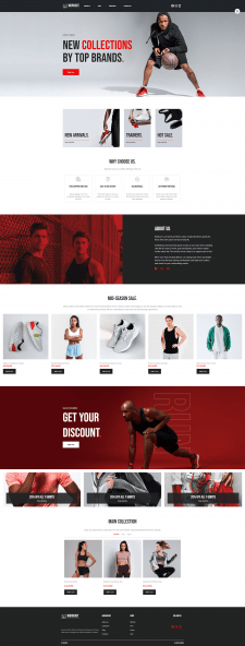 Sport Clothes Store