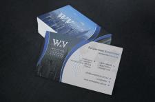 Визитка для компании work&visa