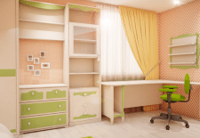 Визуалка дизайн детской комнаты
