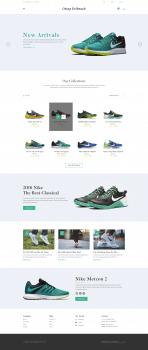 Дизайн обувного магазина