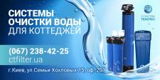 banner - плакат для Системы очистки воды