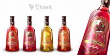 Настойки на коньяке для компании Виконт